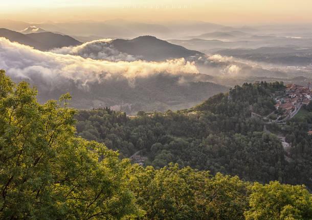 La magia della montagna, dal Campo dei Fiori