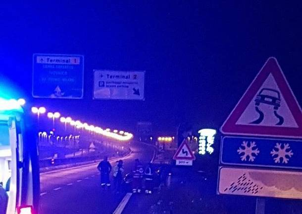 incidente ss 336 notte