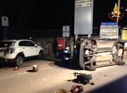 Incidente stradale a Germignaga nella notte del 21 luglio