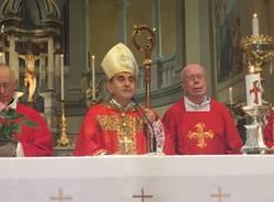 Jerago - la prima messa da Arcivescovo di monsignor Delpini