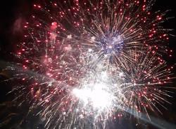 Luino - fuochi d'artificio 1° luglio 2017 - foto di Laura Olivas