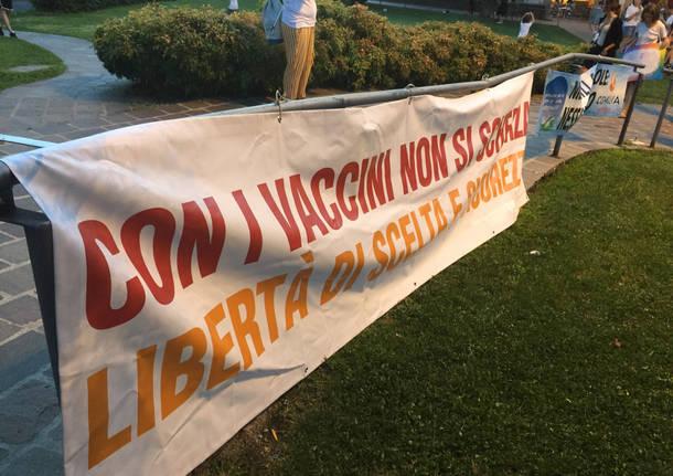 Manifestazione No Vaccini