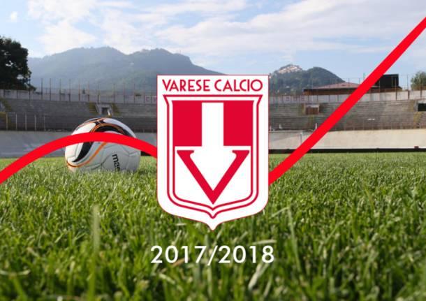 presentazione varese calcio 2017 2018