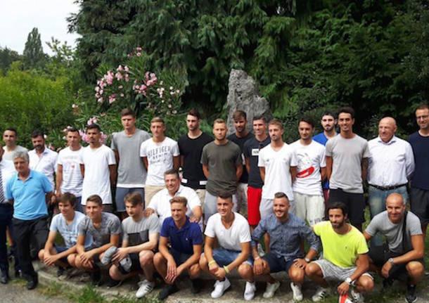 raduno varese calcio 2017 2018