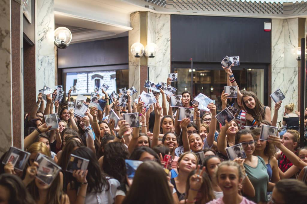 Riki incontra i fan a Varese
