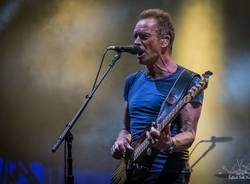 Sting in concerto a Moon&Stars