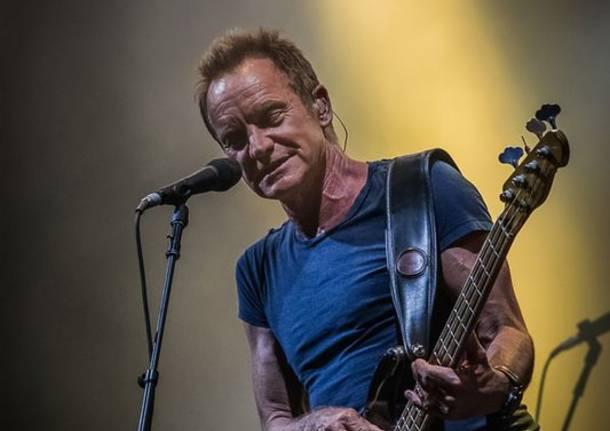 Sting in concerto a Locarno