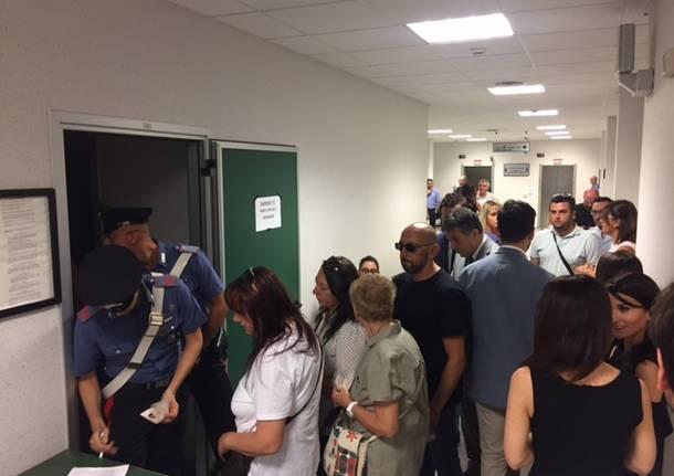 tribunale di Busto Arsizio processo agli amanti killer dell'ospedale