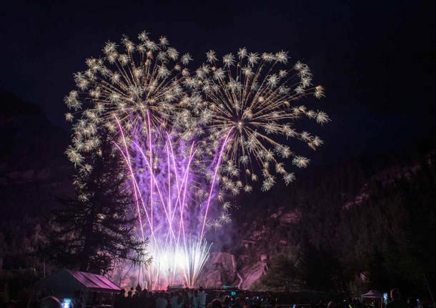 Vette d'artificio: le foto più belle