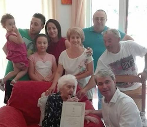 100 anni di nonna eleonora