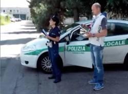 polizia locale drone