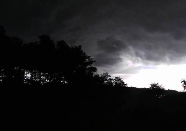 Arrivano i temporali, finalmente un po' di fresco