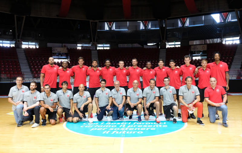 basket presentazione pallacanestro varese 2017
