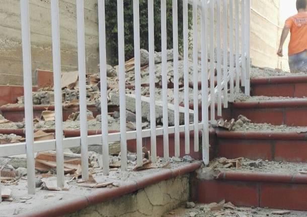 I danni del terremoto a Ischia