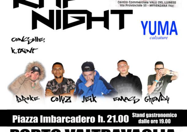 Sabato 12 Agosto  approda il Rap a Porto Valtravaglia !