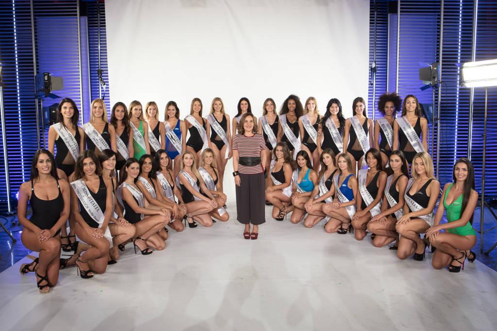 Le trenta finaliste di Missi Italia