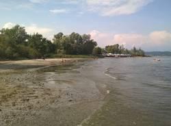 La spiaggia per cani a Dormelletto