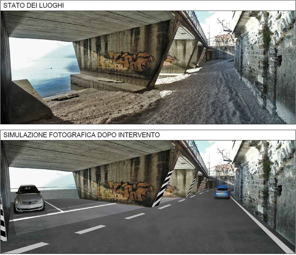 Nuovi parcheggi dai sottopassi