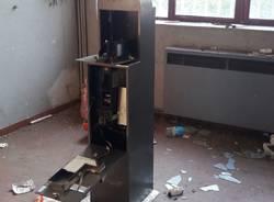 Blitz della polizia locale all\'Ex Enel