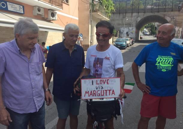 L'impresa di Giacomo, 1500 km in bici a 71 anni
