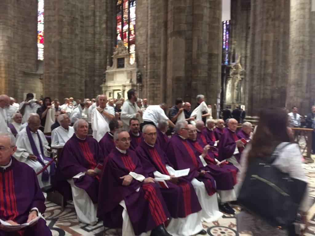 I funerali del Cardinale Dionigi Tettamanzi