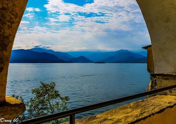 Il Lago Maggiore da Santa Caterina - foto di Domenico De Lucia