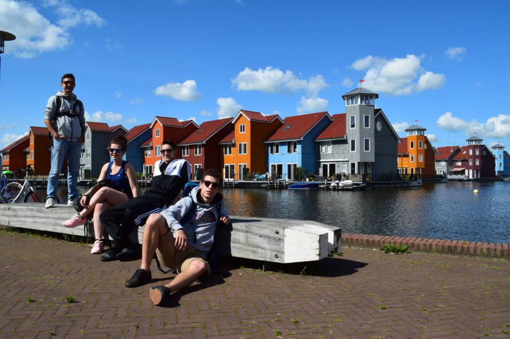 In bici in Olanda, tappa a Groningen