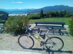 In bici per il lago di Varese