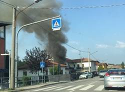 incendio vergiate