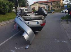 incidente cocquio trevisago agosto 2017