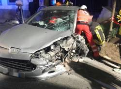 Incidente stradale via per Cassano agosto 2017