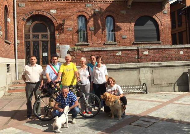 Janus River a Varese, a 80 anni fa il giro del mondo in bici