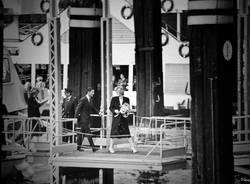 Lady D e il prince Carlo sul Lago Maggiore nell'aprile del 1985