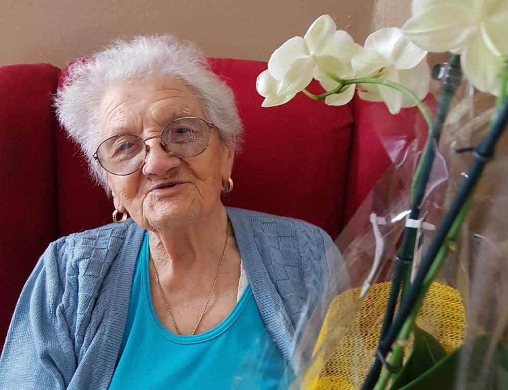 Luigina Zanotelli 102 anni