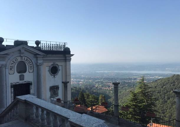 Monsignor Delpini al Sacro Monte