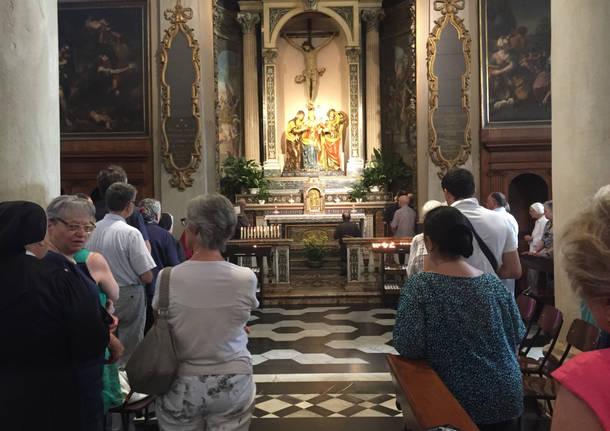 Monsignor Delpini: una visita di preghiera a Varese prima di diventare arcivescovo
