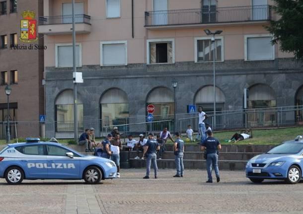polizia piazza repubblica carrefour