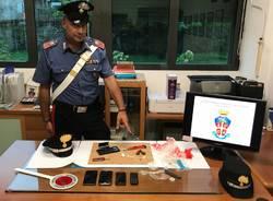 sequestro droga carabinieri verbania