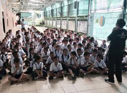 Thailandia quinto giorno: animatori per 200 bimbi