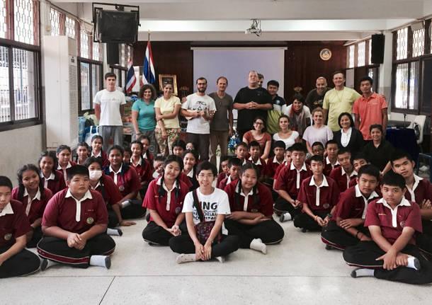 Viaggio in Tailandia: nel quartiere operaio di Bankok