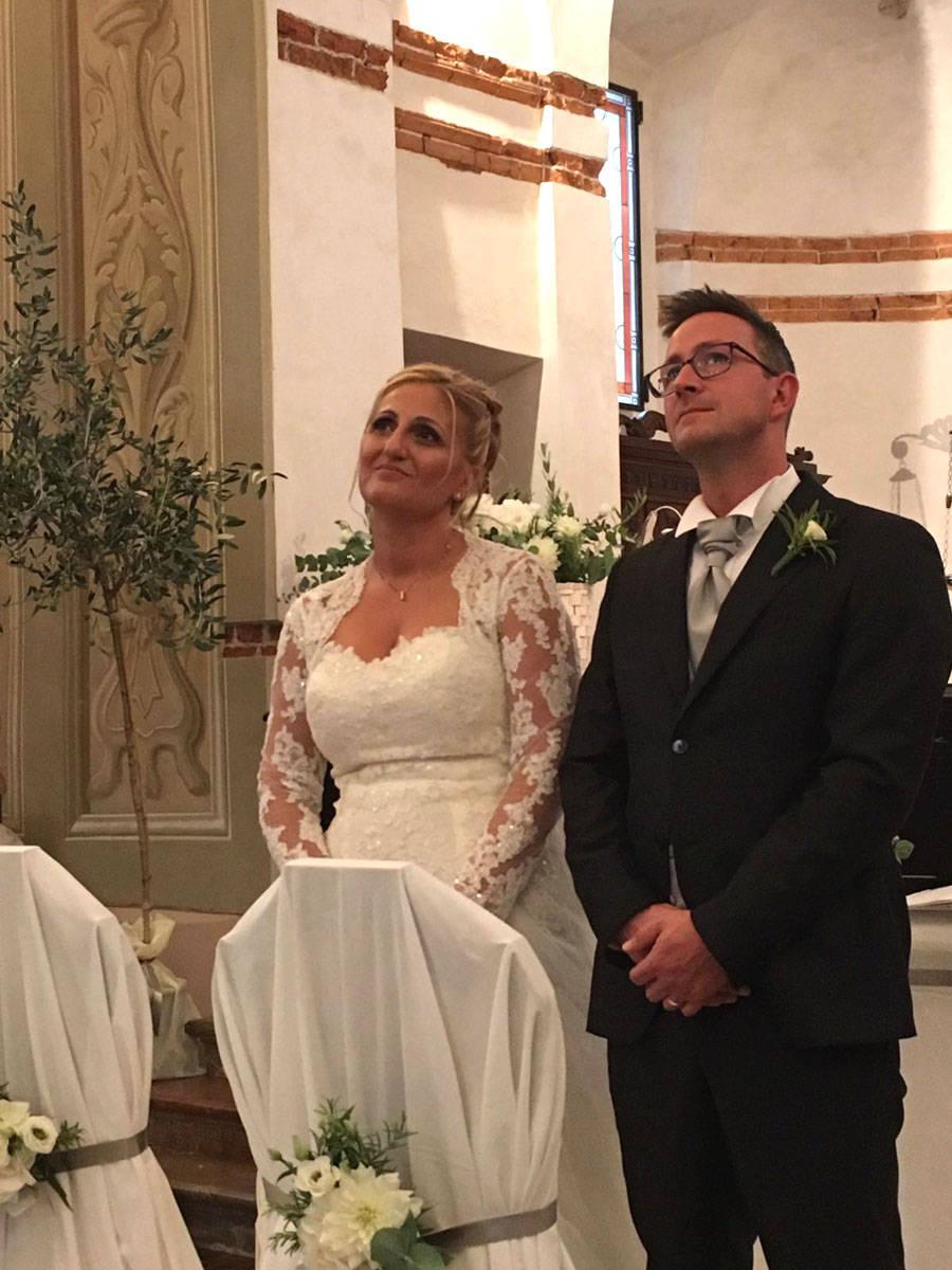 Bodio Lomnago - Matrimonio del sindaco Eleonora Paolelli
