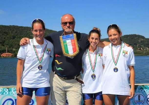 campionato italiano canottaggio sedile fisso corgeno 2017