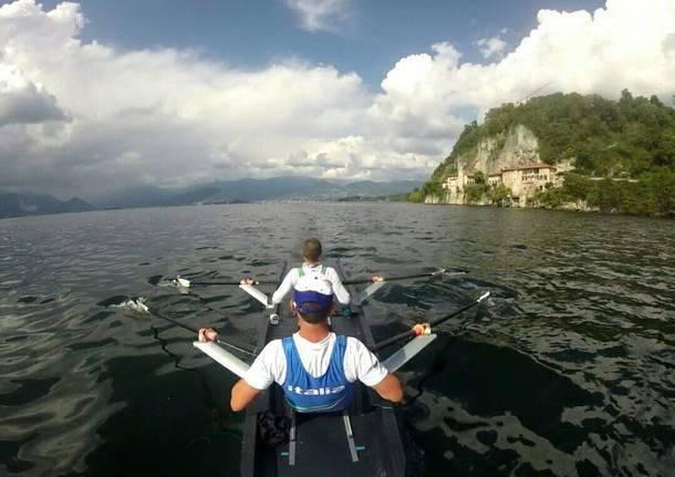 canottaggio lago maggiore francesco rando