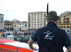 La festa degli alpini a Varese