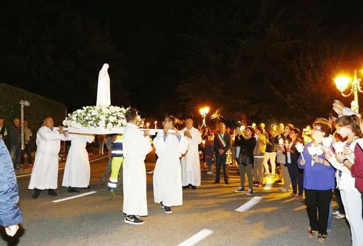 La Madonna Pellegrina a Galliate Lombardo