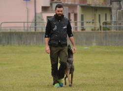 Matteo e Dina, due saronnesi al mondiale di cani da soccorso
