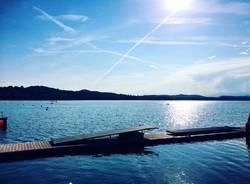 Il Lago di Varese col sole