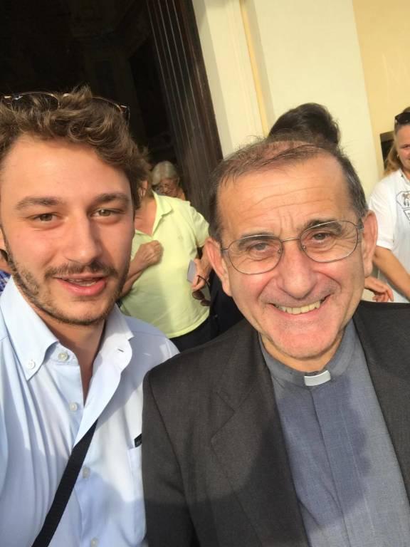 La visita di Mario Delpini