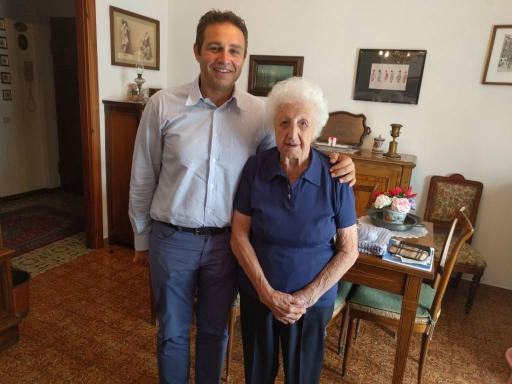 I 101 anni di Nonna Luigia