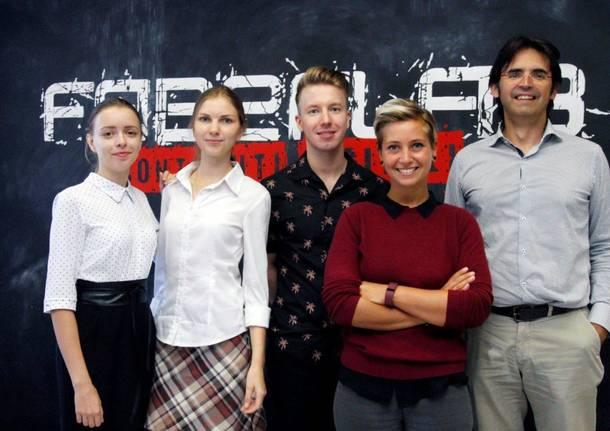 Studenti da Astrakhan al Faberlab
